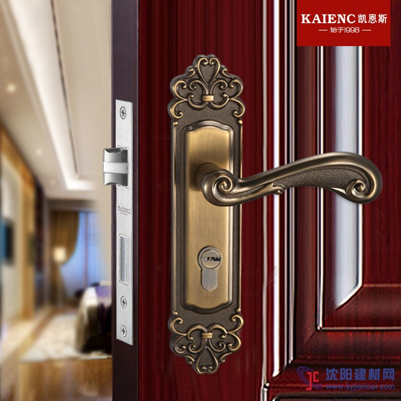 广东凯恩斯门锁 静音房门锁 防盗门锁供应