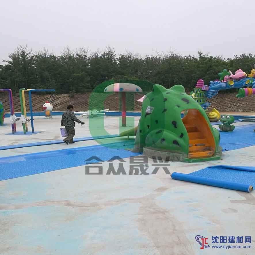 铺装儿童戏水池 老旧游泳池改造 防水胶膜 厂家