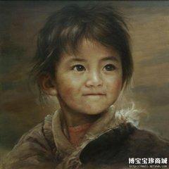 少年主题油画艺术