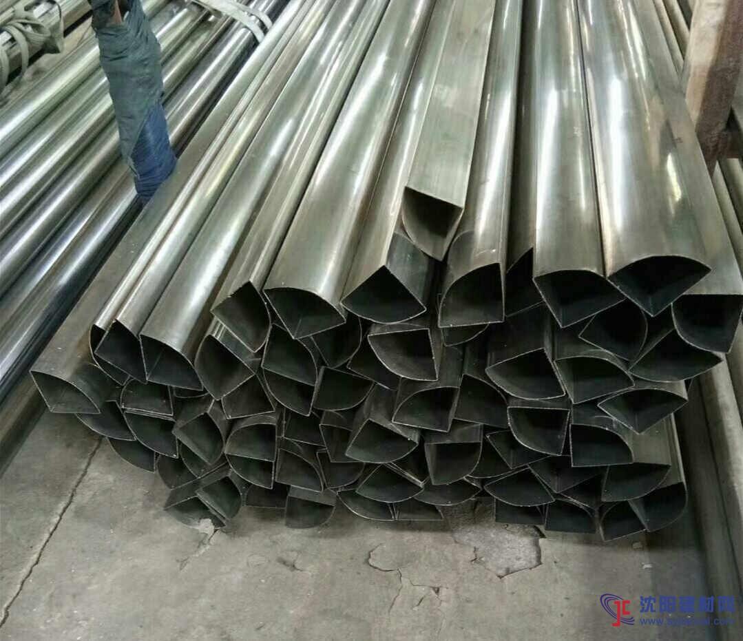 扇形不锈钢管现货30*30*40mm