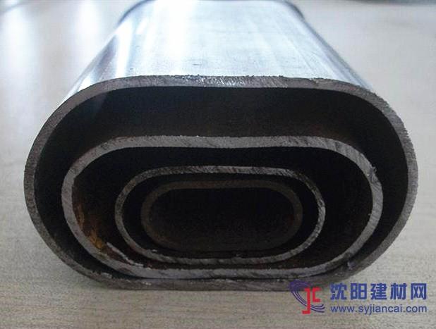 不锈钢平椭圆管现货50*110mm