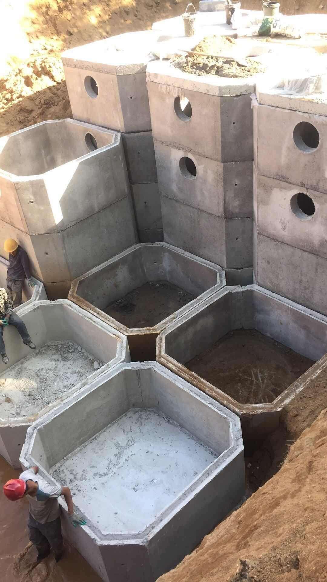 混凝土检查井,化粪池,电力井,电缆井,消防井