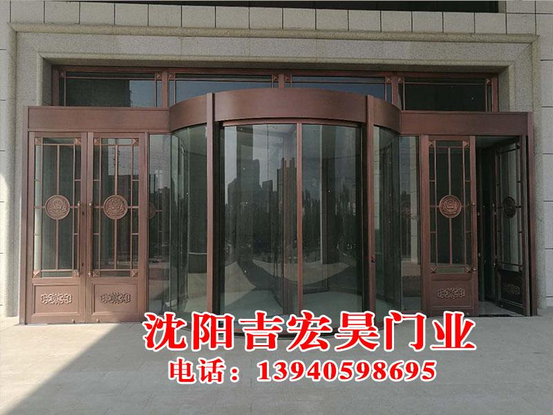 旋转门—沈阳吉宏昊门业,价格合理,品质保证