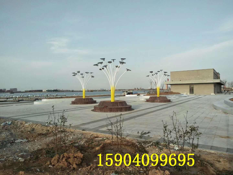 盘锦含章湖旅游区铁艺雕塑工程
