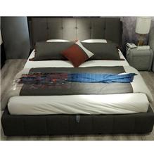 尚澜家居新舒适布床双人软床小户型可拆洗软包