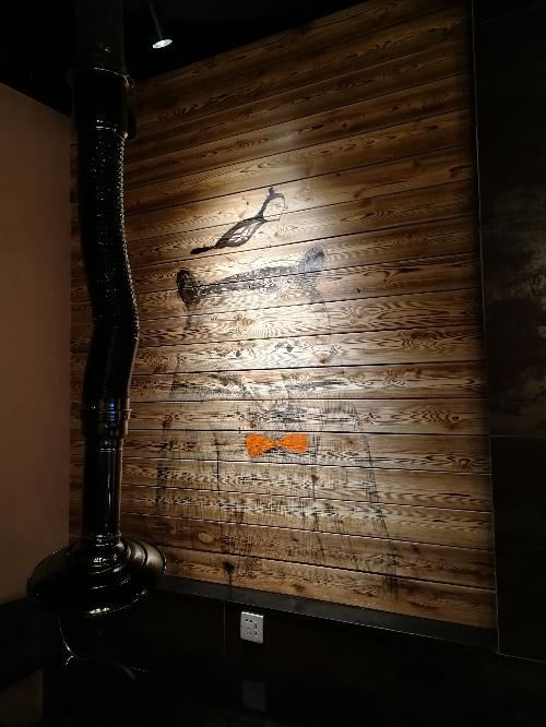 沈阳烧烤串店墙画