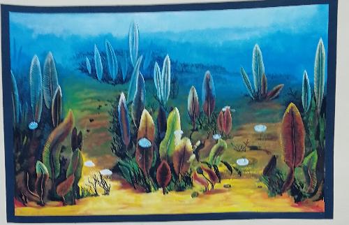 葫芦岛手绘壁画