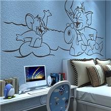芳源硅藻泥儿童房卧室装修涂料室内涂料包工包料施工