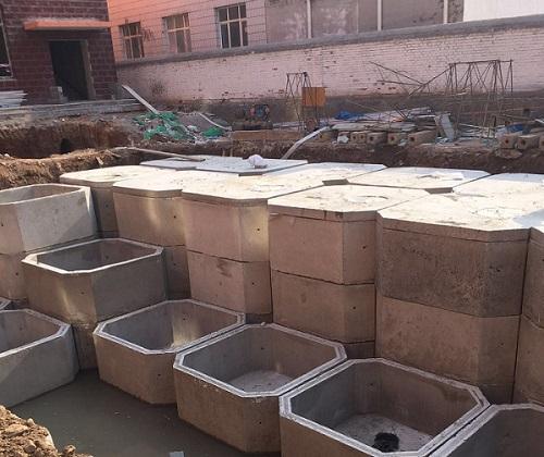 内蒙古赤峰宁城消防池工程实景