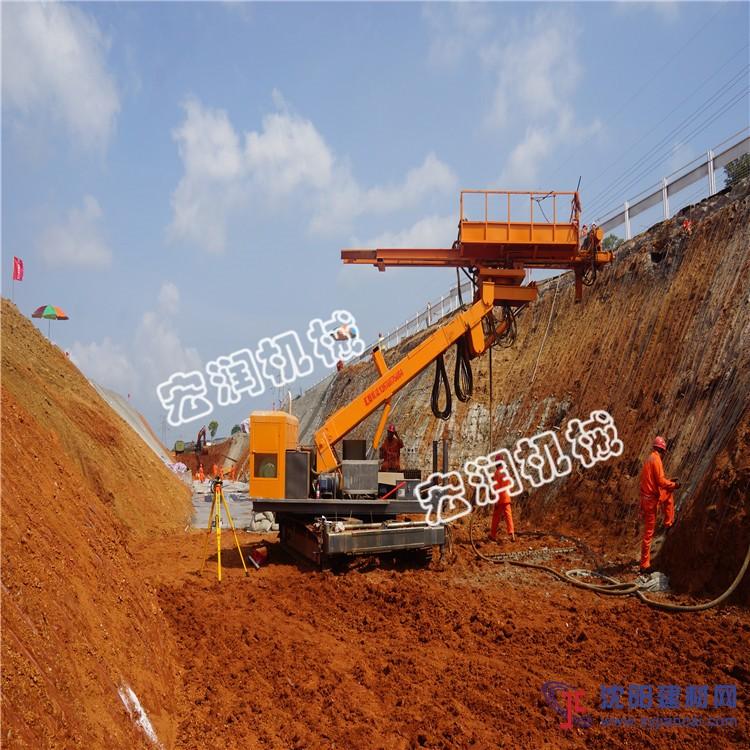 全液压锚固钻机 护坡工程锚索钻机 护坡灌浆钻机
