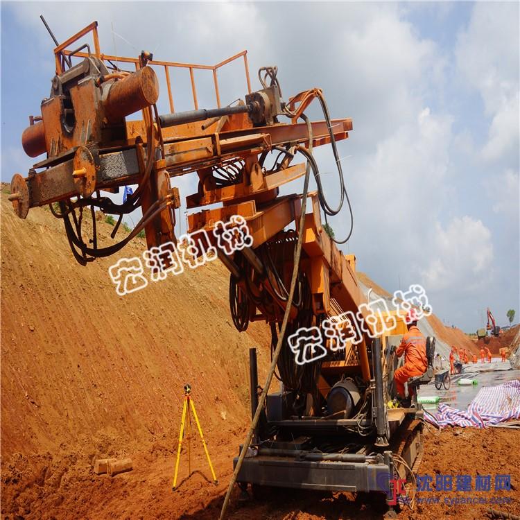 供应边坡支护锚固钻机 基坑支护钻机哪里有
