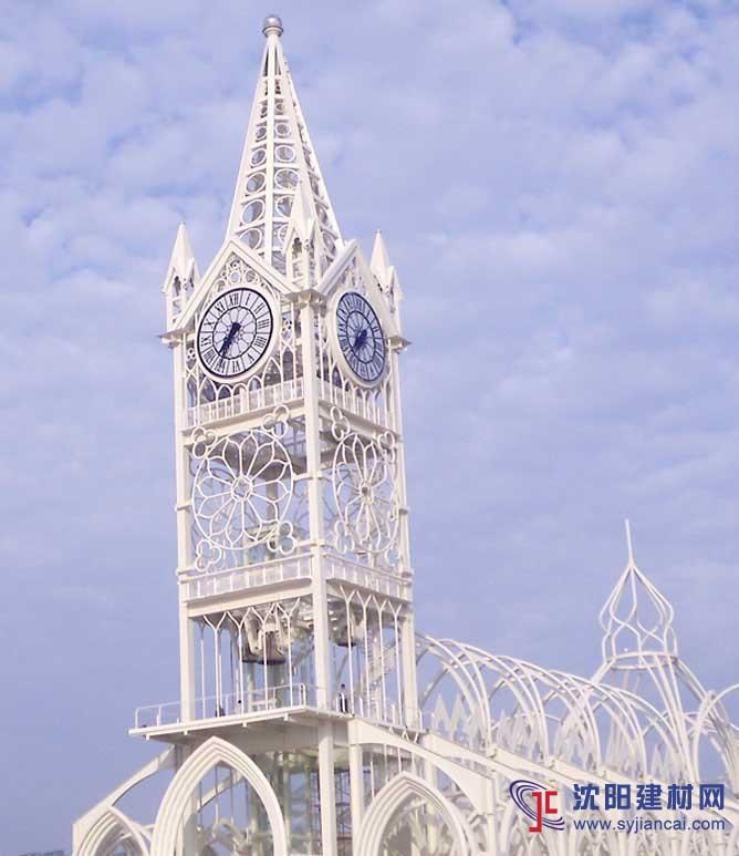 塔钟户外大钟广东广州建筑大钟
