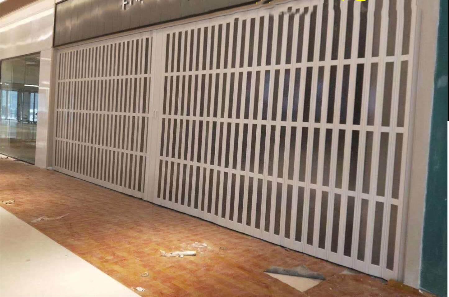 沈阳大型商场隔断,拖拉门