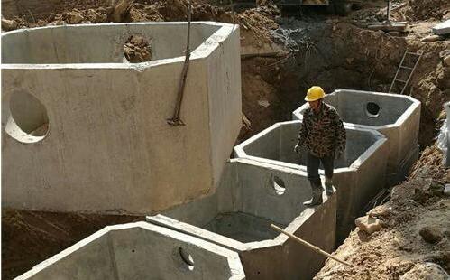 水泥污水井厂家,水泥蓄水池厂家