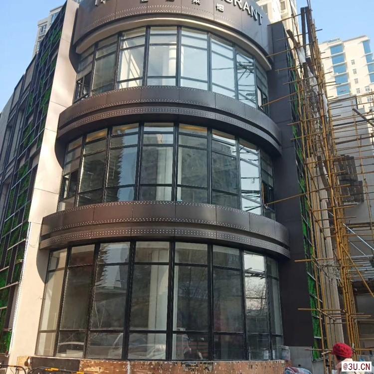 建筑外幕墙铝单板装饰