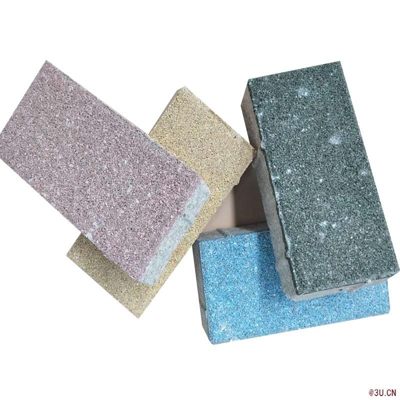 福建透水砖 200x100长方形陶瓷透水砖