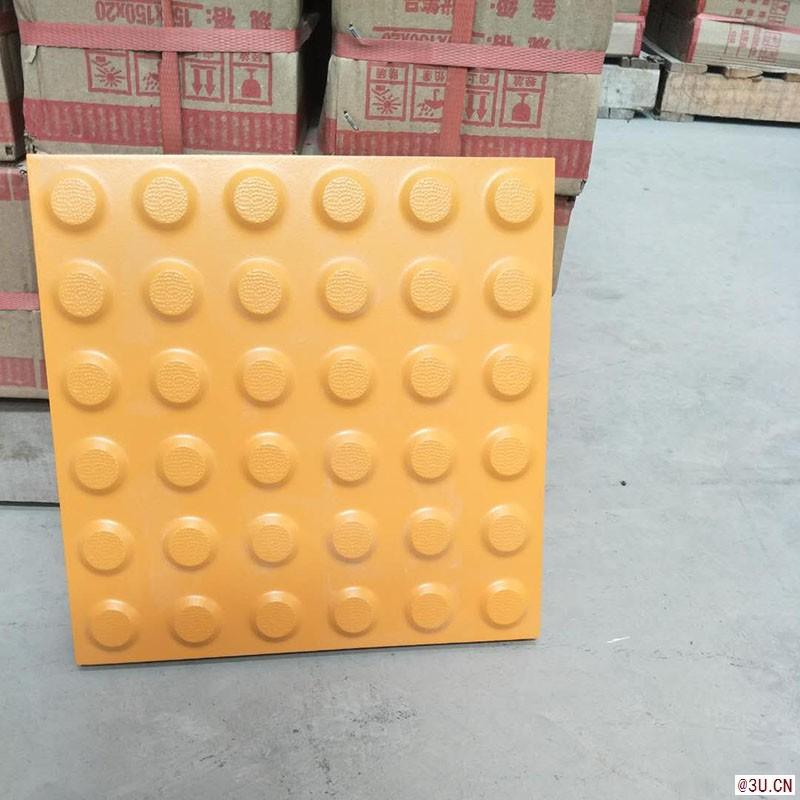 内蒙古盲道砖工厂众光牌盲道砖图片