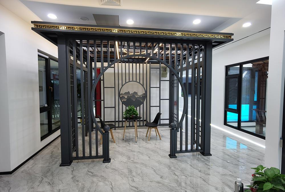新中式凉亭,全铝凉亭,复古凉亭