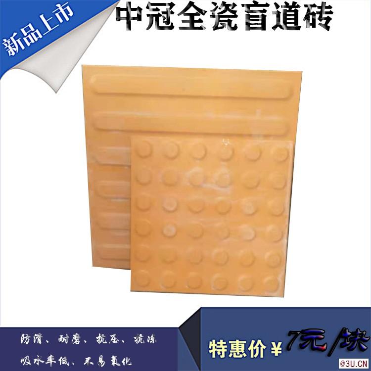 全瓷盲道砖价格/陕西市政全瓷盲道砖设计风格6